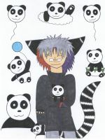Chester: Pandas by Black--Cheshire