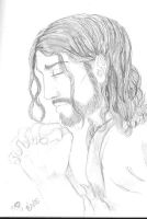 Jesus praying by evolra