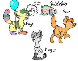 Pinata Adoptables 2 CLOSED .O. by rabbitrabies