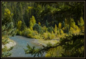 East Fork Canyon by Kaessa