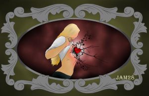 Corazon espinado/Heart with thorns. by jam28