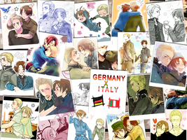 APH: Germany x Italy by Tian-samaaaa