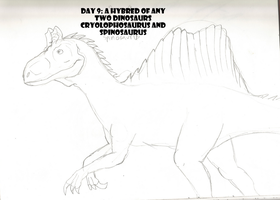 30 Day Dinosaur Drawing Challenge: Day 9 by PandaFilms