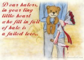 Dear Haters by madna29