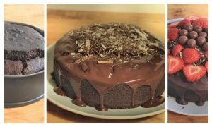 Chocolate Cake Progress by Aconitum-Napellus