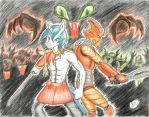 Bionicle X MLP by lordvader914