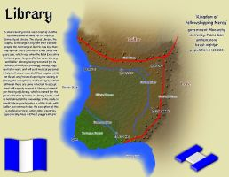 Library Map by RaiuDragon