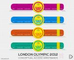 London Olympic 2012 Conceptual Wristband by shiliang