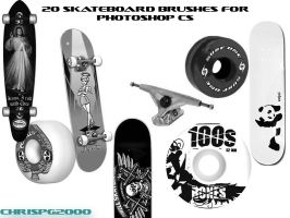 SKATEBOARD BRUSHES by chrispg2000