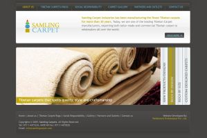 Web layout - Samling Carpet by harkalopchan