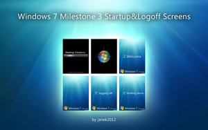 Windows 7 M3 Animations by janek2012