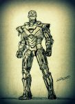 Ironman Sketch by srikantshetty