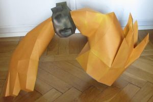 assembly: life size Midna hairhand-thingie side by minidelirium