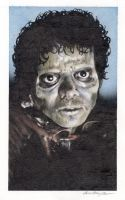 zombie Michael Jackson from Thriller by smoothdaddyride