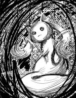 Kyubey by Fairymoonchaser