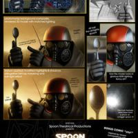 Spoon 3D behind it all + comic by aphaits