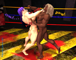 UFFC FIGHT: Luna T. Vs Mariana R.  4 by WolfsMuscleGirls