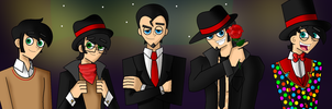 Enderman boyz (Human Version) by ITZELDRAG108