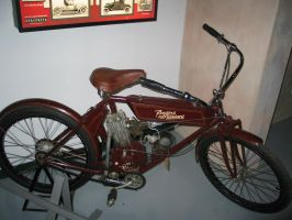 1909 Reading Standard Motorcycle by LtNathanHale