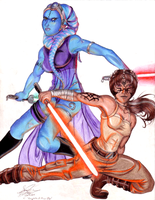 Knights of the Old Republic by RavenScarlett