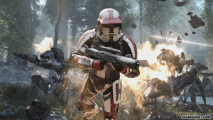 Havoc Squad in battle by Balgosa
