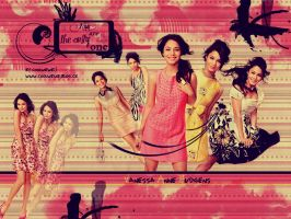 Wallpaper with Vanessa Hudgens by coolwewe