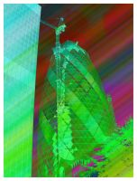30 St Mary Axe Technicolor by hamsher