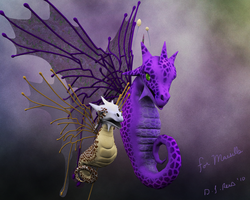 Faerie Dragons for Marsille by Zethara
