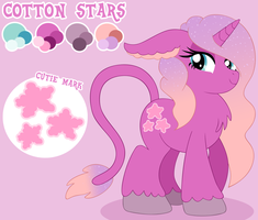 Cotton Stars Reference by MintyStitch