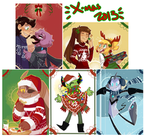 Christmas cards by MnstrMthd