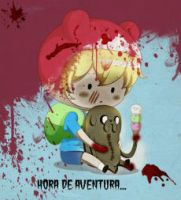 adventure time by spctra