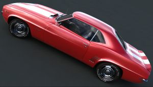 classic muscle car by Missionaryrdr