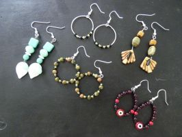 Earrings, earrings. by Feyoka