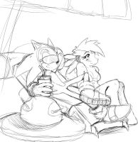 MLPxSonic:Sonic and Dash WIP by ss2sonic