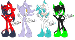 .:Sonic Boy Adoptables:..::Closed::. by abbyfirecat