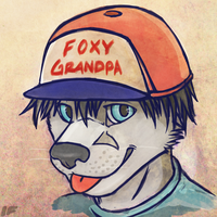 Foxy Grandpa by Intrufox