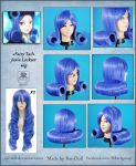 Fairy Tail - Juvia Lockser wig commission by Rei-Doll