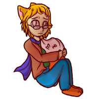 AT: Chibi Lucke Foxsmith by Accalialove