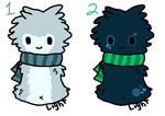 Scarfblob Adopts 4 (closed) by canobefnur