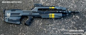 Halo BR85 Battle Rifle Replica by JohnsonArms