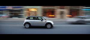 Mini in speed by NicoFX