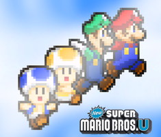 New Super Mario Bros. U: Let's A Stop Evil by FaisalAden