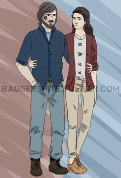Modern Rodrik and Elaena by jakest123