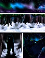 GoldenPhoenixWolf Comic Sample Page 1 by Wolven-Sister