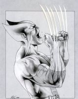 WOLVERINE -  'War Cry' by KSowinski