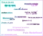 Disturbed - Pain Redefined by Foxxie-Chan