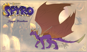 Reign - Spyro by Fyre-feathers