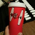 First Order Red Cup by Anime-Ray