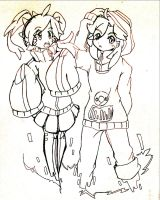 Ene-Mitha and Kido-Crise by CrissyG