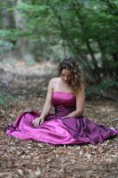 pink FANTASY dress by Nataly-Stock